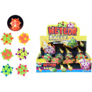 Meteor ball with light 6 assorted in Display [Incl
